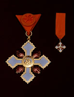 ORDER OF ST. CYRIL AND METHODIUS FIRST DEGREE