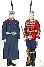 Униформа на Национална гвардейска част