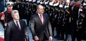 Rumen Radev is on an official visit to the Republic of Macedonia