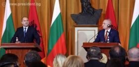Съвместна пресконференция на президентите Румен Радев и Илир Мета
