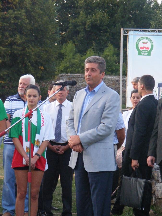 19 август 2011 г., Перник. Президентът Георги Първанов посети град Перник